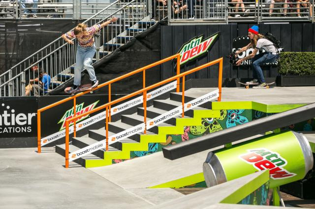 Okamoto among five Japanese skateboarders through to women's park final as action begins at Dew Tour Long Beach event