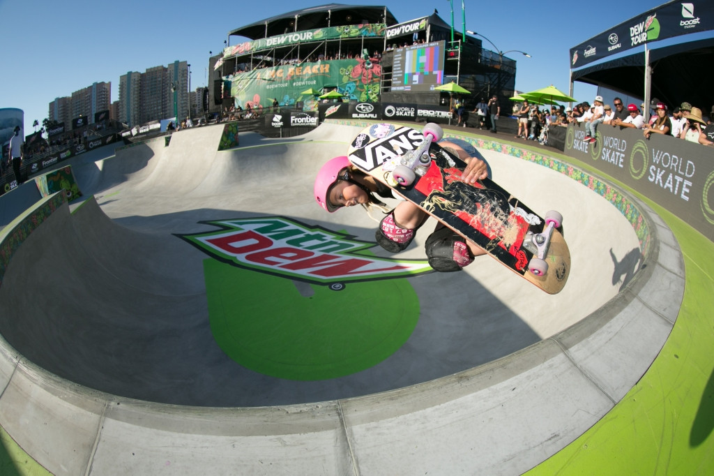 Competition in Long Beach is being spread across four days ©World Skate