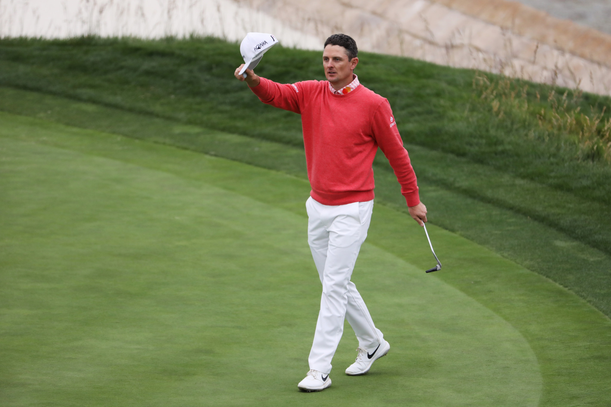 Rose cards six-under-par 65 to lead US Open as Sabbatini hits hole-in-one