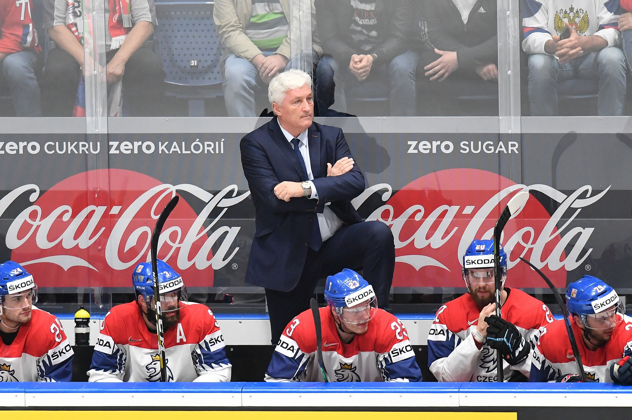 Milos Riha will continue as head coach of the Czech Republic men's national ice hockey team ©Getty Images