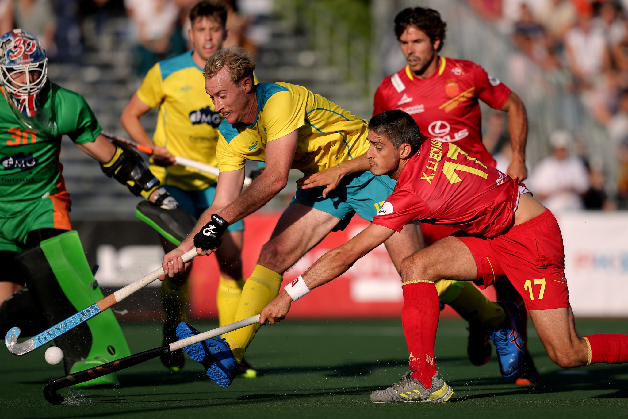 The victory for Spain handed them their first win inside normal time ©Getty Images