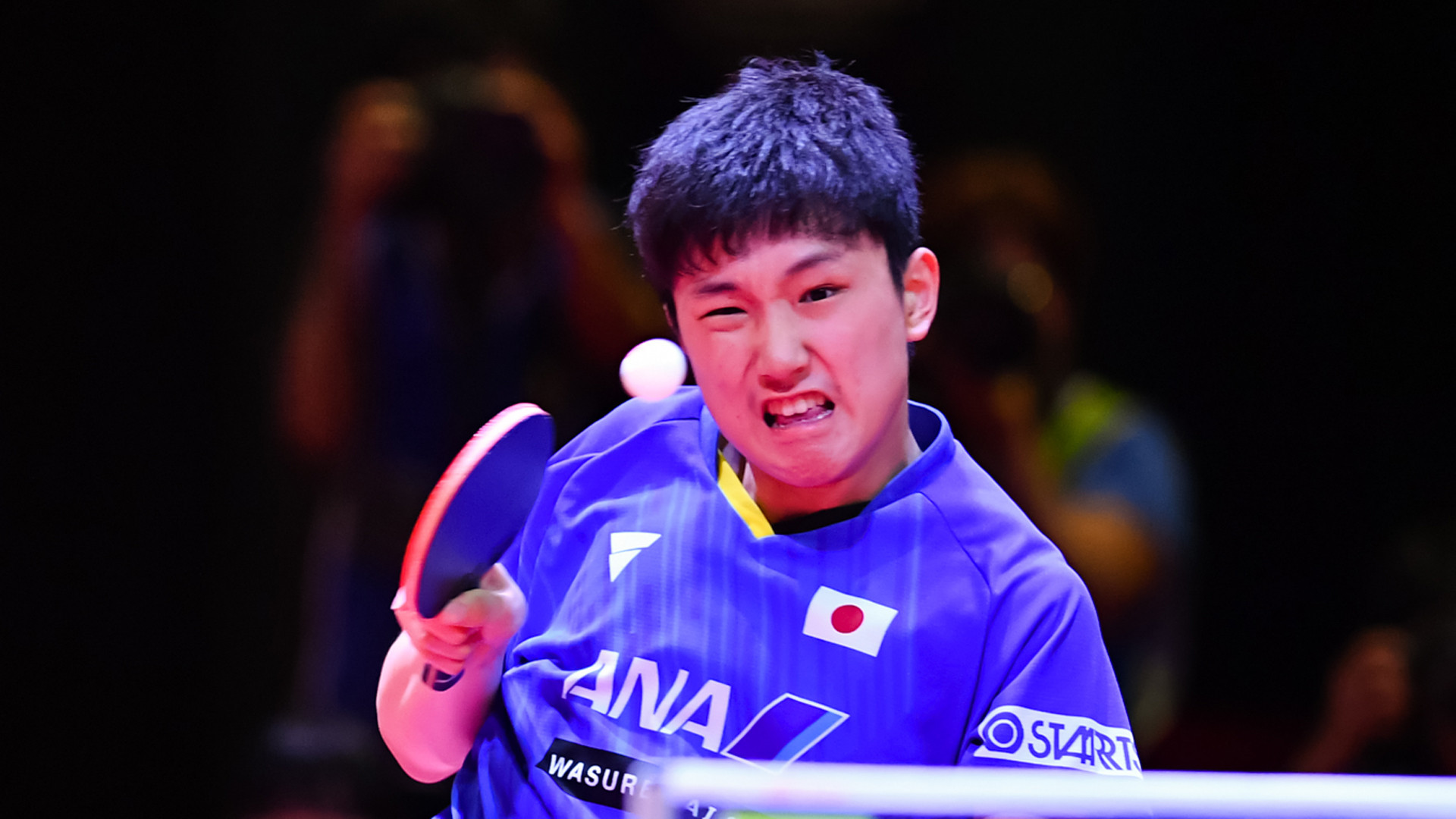 Defending champion and home favourite Tomokazu Harimoto is out of the ITTF Japan Open in Sapporo ©Hong Kong Table Tennis Association