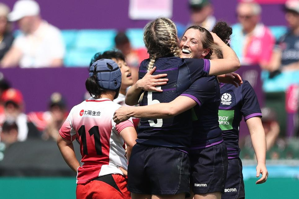 Scotland are set to make their World Rugby Women's Sevens Series debut ©World Rugby