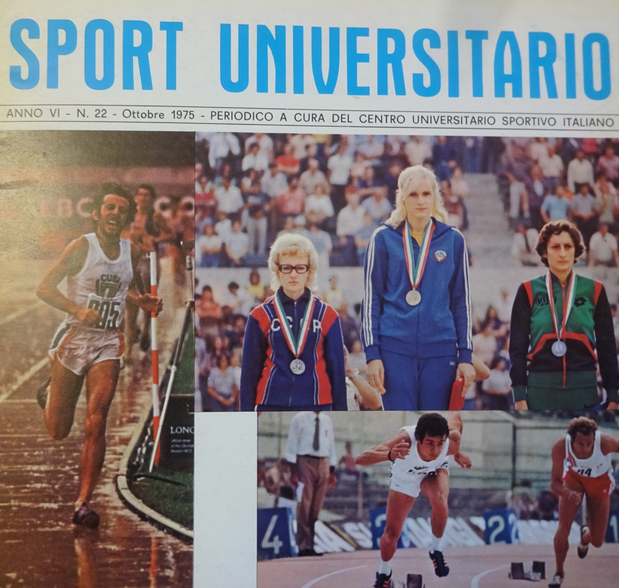 The CUSI magazine for 1975 in Rome ©CUSI