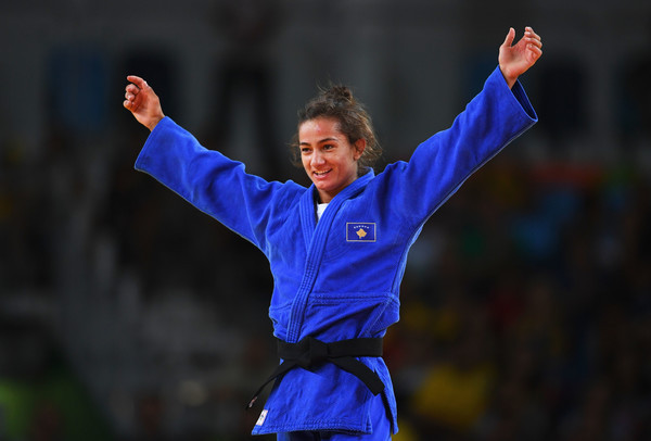 Mijlinda Kelmendi will compete for Kosovo at the European Games in Minsk ©Getty Images