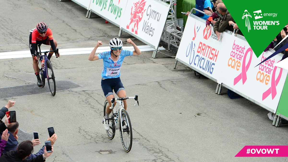Lizzie Deignan won the penultimate stage of the  OVO Energy Women's Tour ©Twitter/The Women's Tour