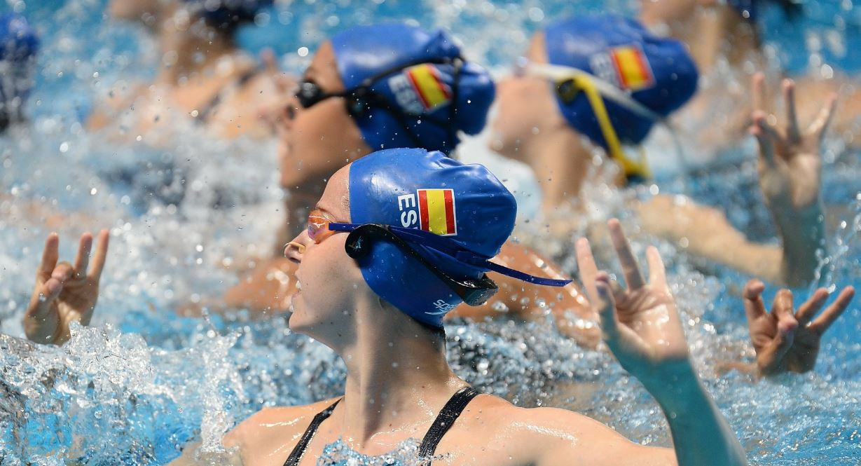 Spain won silver in the team technical contest behind Ukraine ©FINA