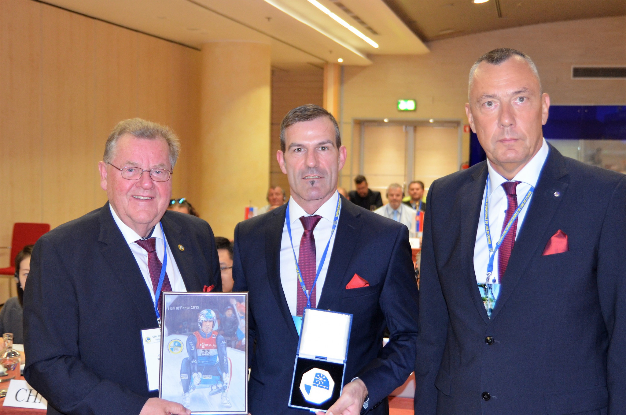 Luge legend Zöggeler inducted into Hall of Fame as FIL Congress begins
