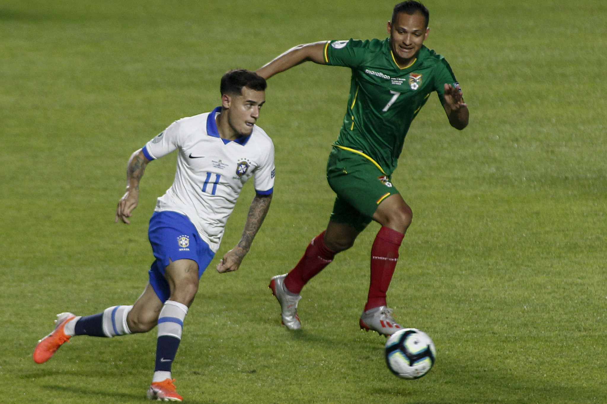 Hosts Brazil live up to expectations with comfortable opening Copa América victory against Bolivia