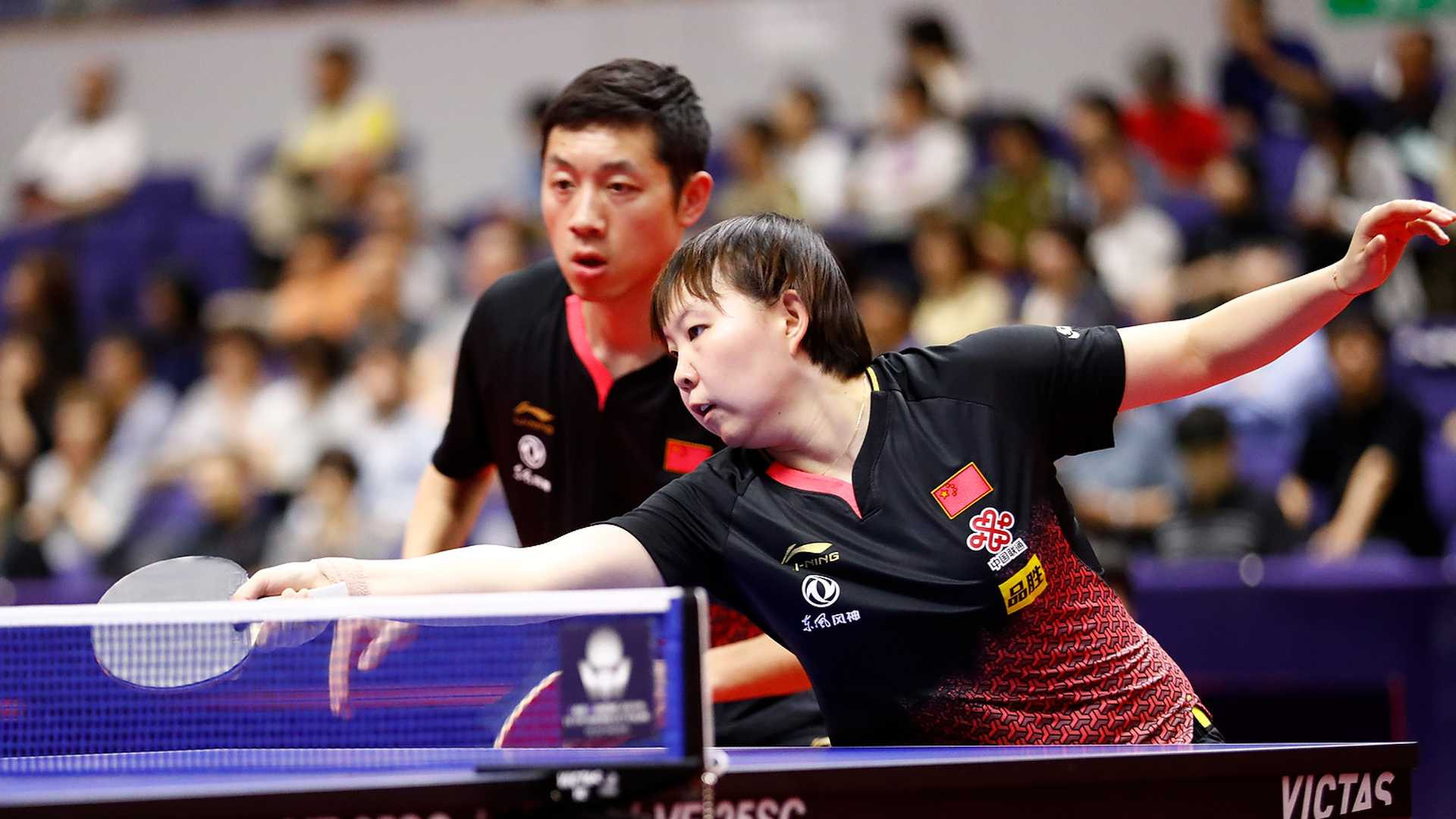 Xu and Zhu secure mixed doubles title for China at ITTF Japan Open