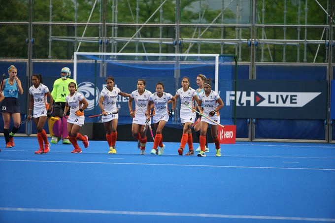 India recorded a comfortable 4-1 win over Uruguay to get their campaign off to a winning start ©FIH