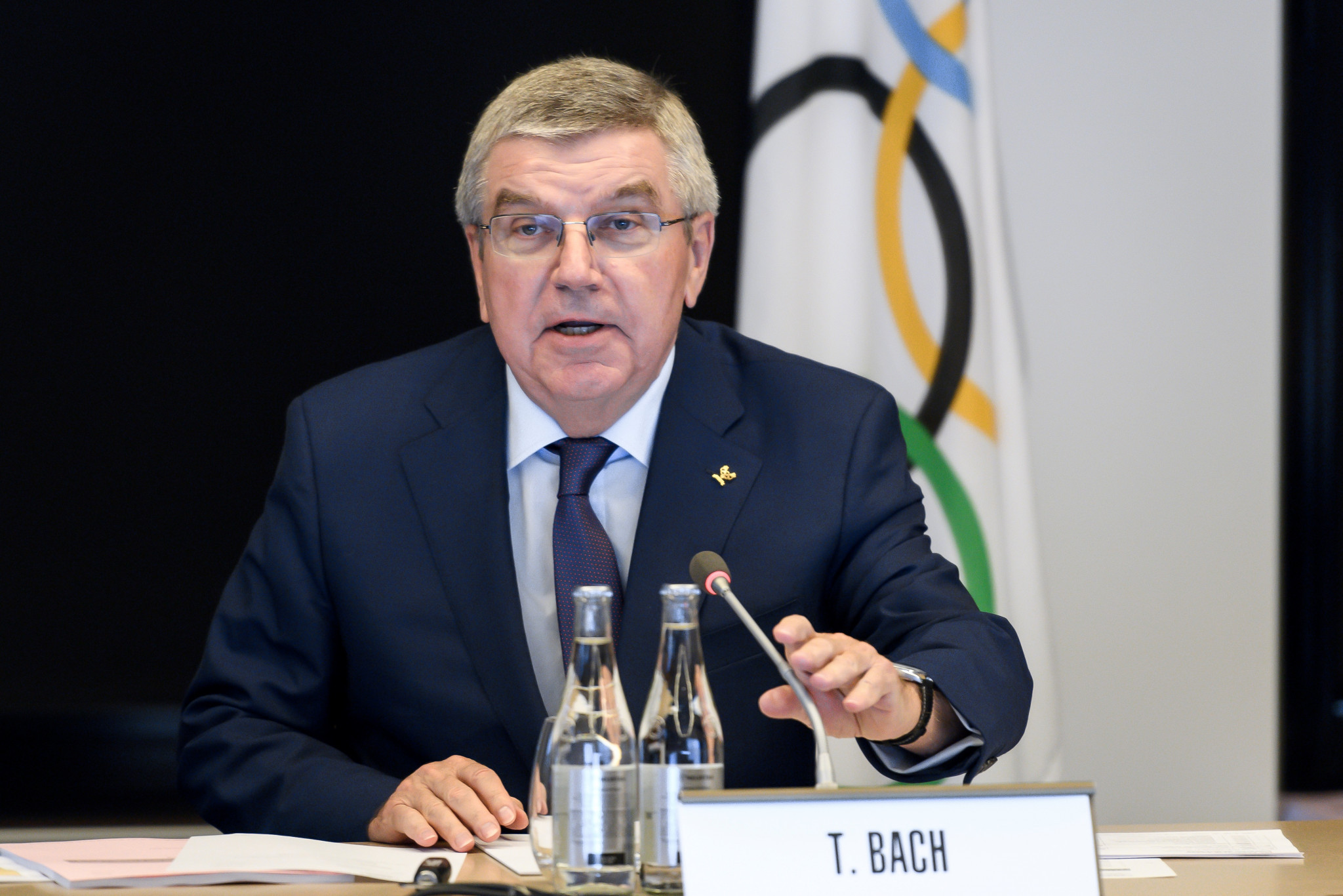 IOC President Thomas Bach has his trusted allies and lieutenants, who are often given high-profile roles within the organisation ©Getty Images