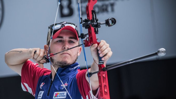 Lutz and Avdeeva secure individual compound titles at World Archery Championships