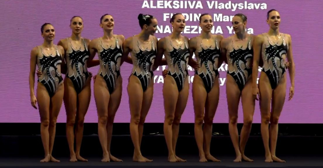 Ukraine collected three gold medals on the second day of the International Swimming Federation Artistic Swimming World Series Super Finals in Budapest ©FINA