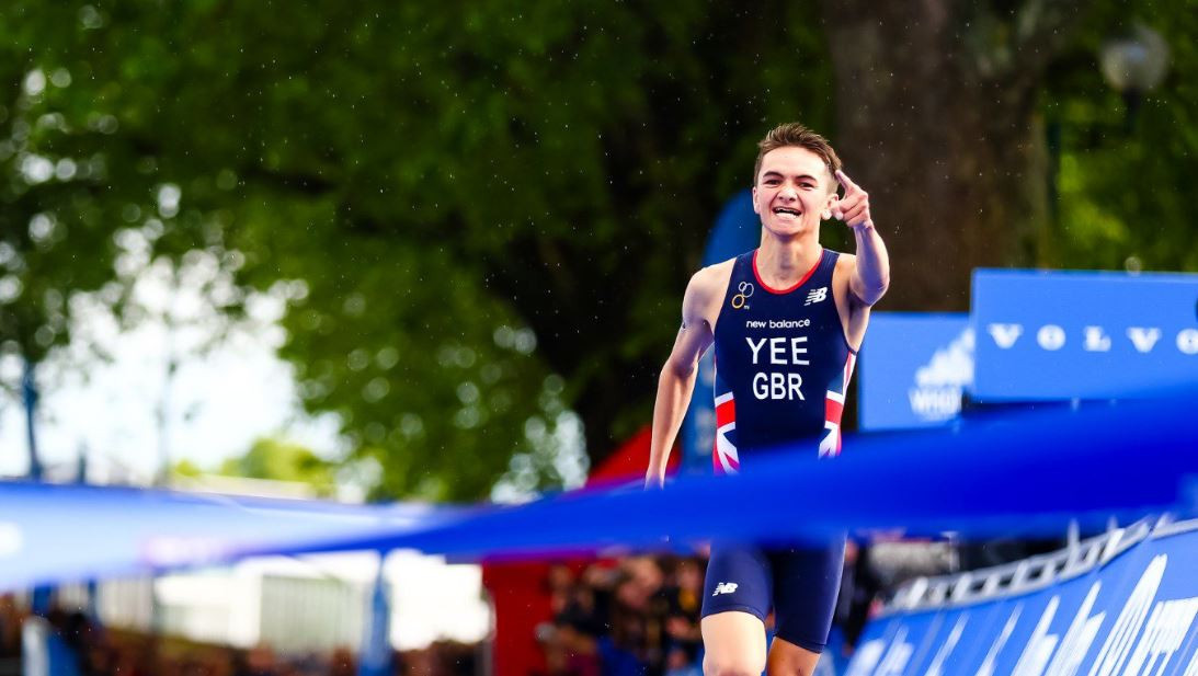 Young British quartet storm to ITU World Mixed Relay Series win on home soil