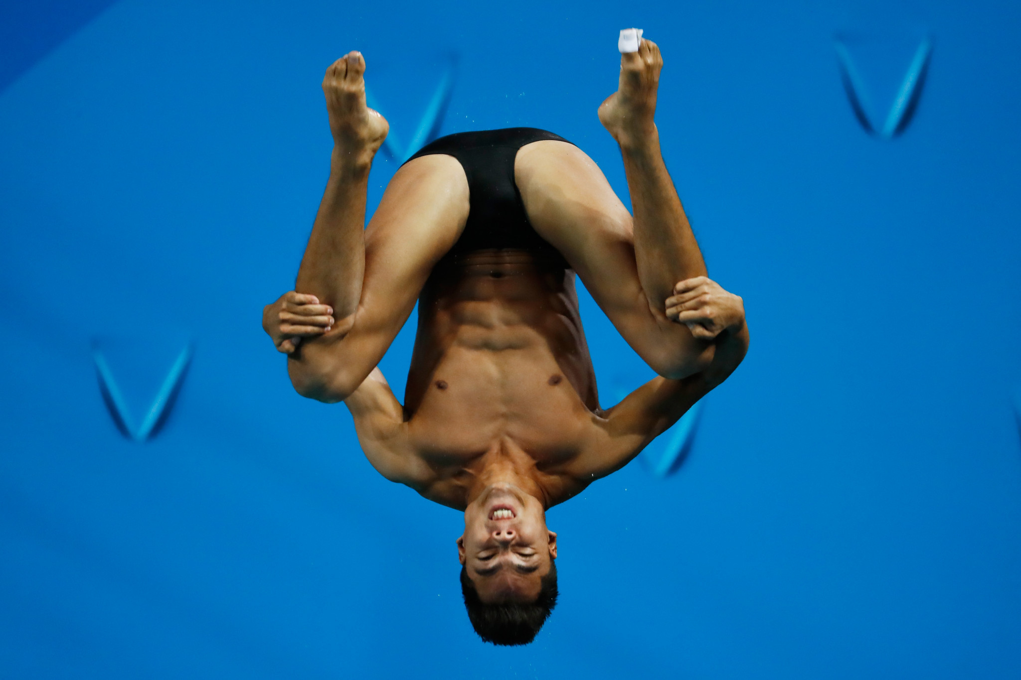 Colombia's Sebastián Morales triumphed in the men's three metres competition ©Getty Images