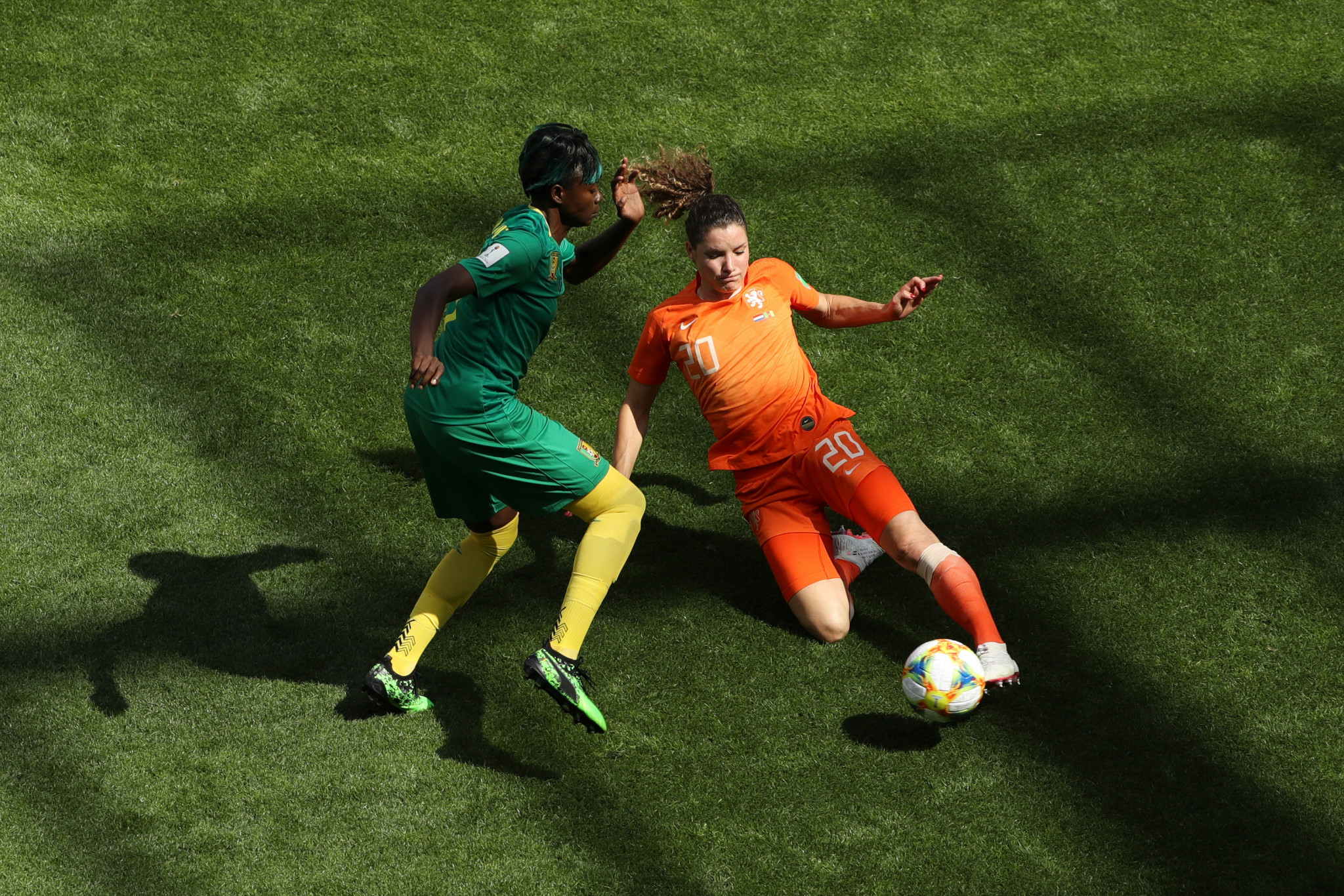 The Netherlands defeated Cameroon to qualify for the FIFA Women's World Cup knockout stage ©Getty Images