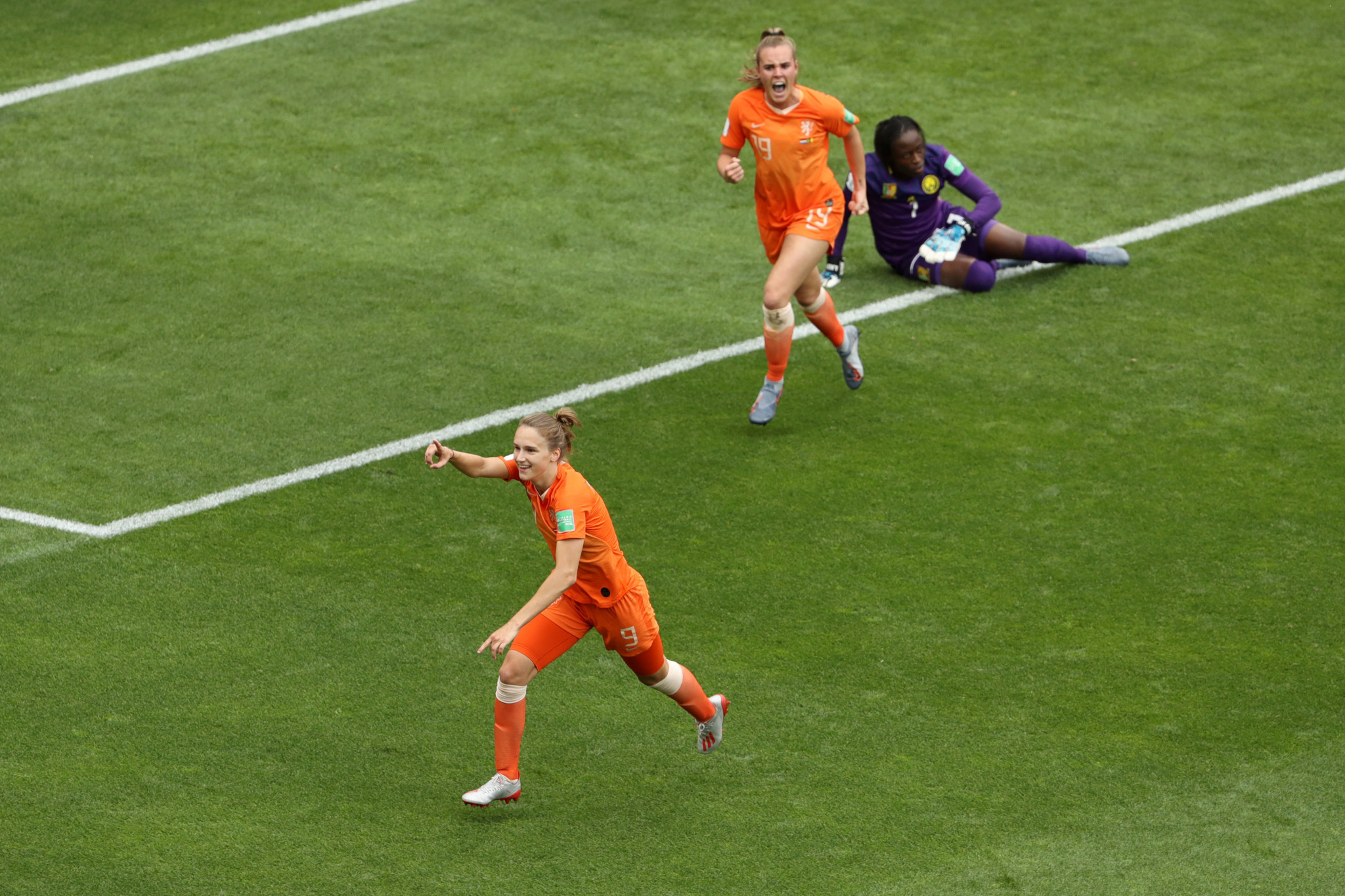 Vivianne Miedema has become the all-time top scorer for the Netherlands with 60 goals ©Getty Images