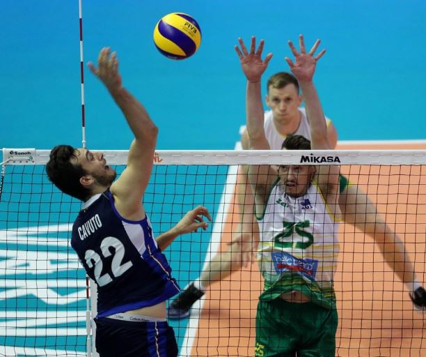 Italy defeated Australia 3-1 in their Pool 10 clash in Varna, Bulgaria ©Twitter