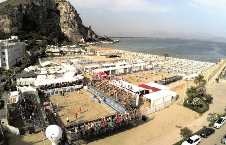 Terracina, Italy is hosting the International Tennis Federation Beach Tennis World Championships ©Twitter