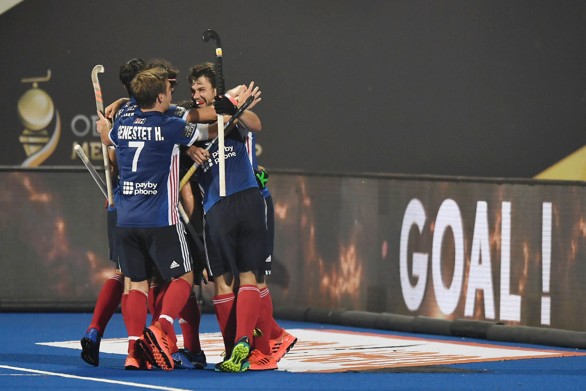 France thrashed Ukraine on the first day of the FIH Series Finals ©Getty Images