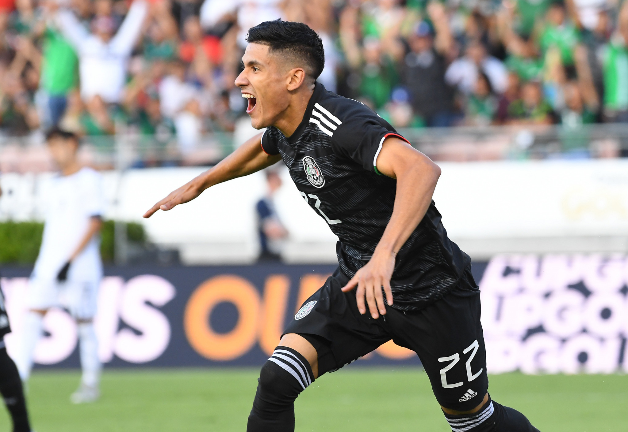 Uriel Antuna scored a hat-trick for Mexico as the Gold Cup opened ©Getty Images