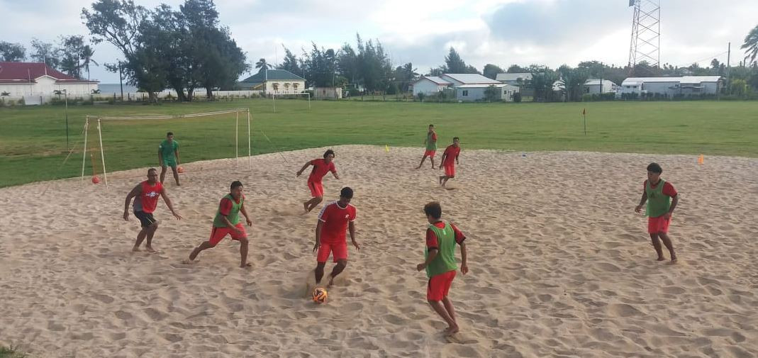 Tonga will make their debut at the 2019 Oceania Football Confederation Beach Soccer Nations Cup ©Twitter