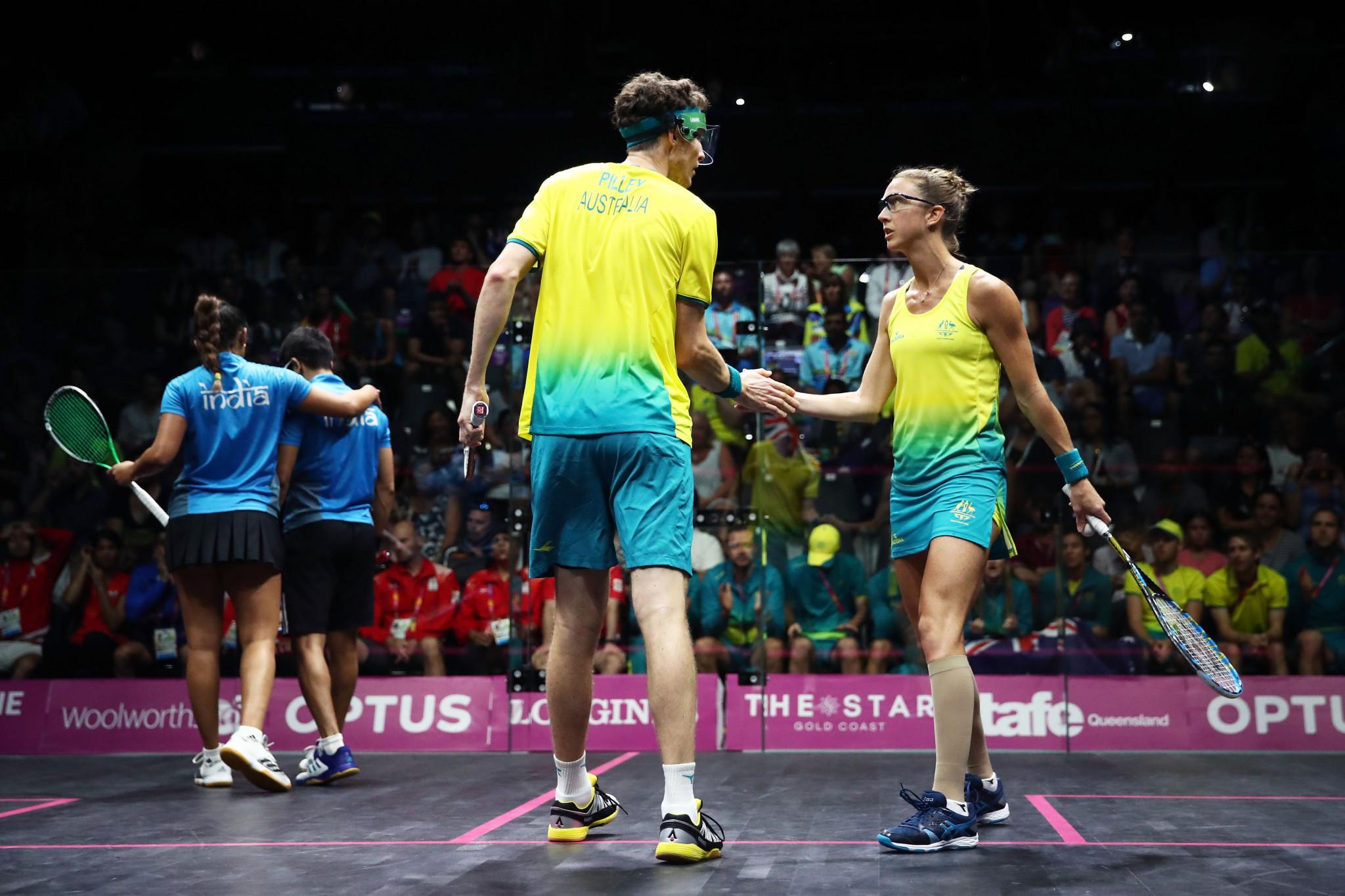 Australia set to dominate WSF World Doubles Squash Championships