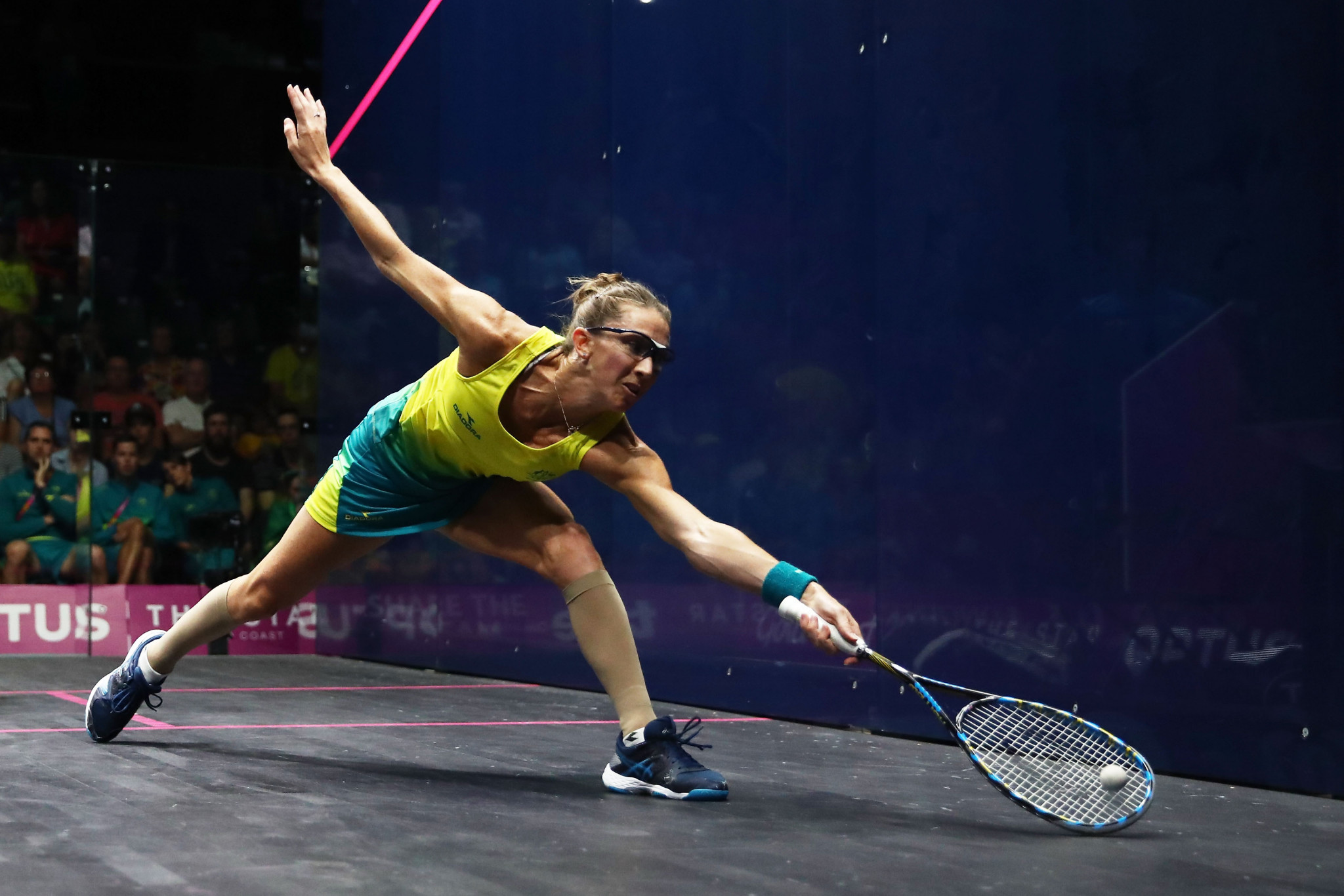 Donna Lobban, née Urquhart, will represent Australia in the mixed and women's events at the WSF World Doubles Championships ©Getty Images