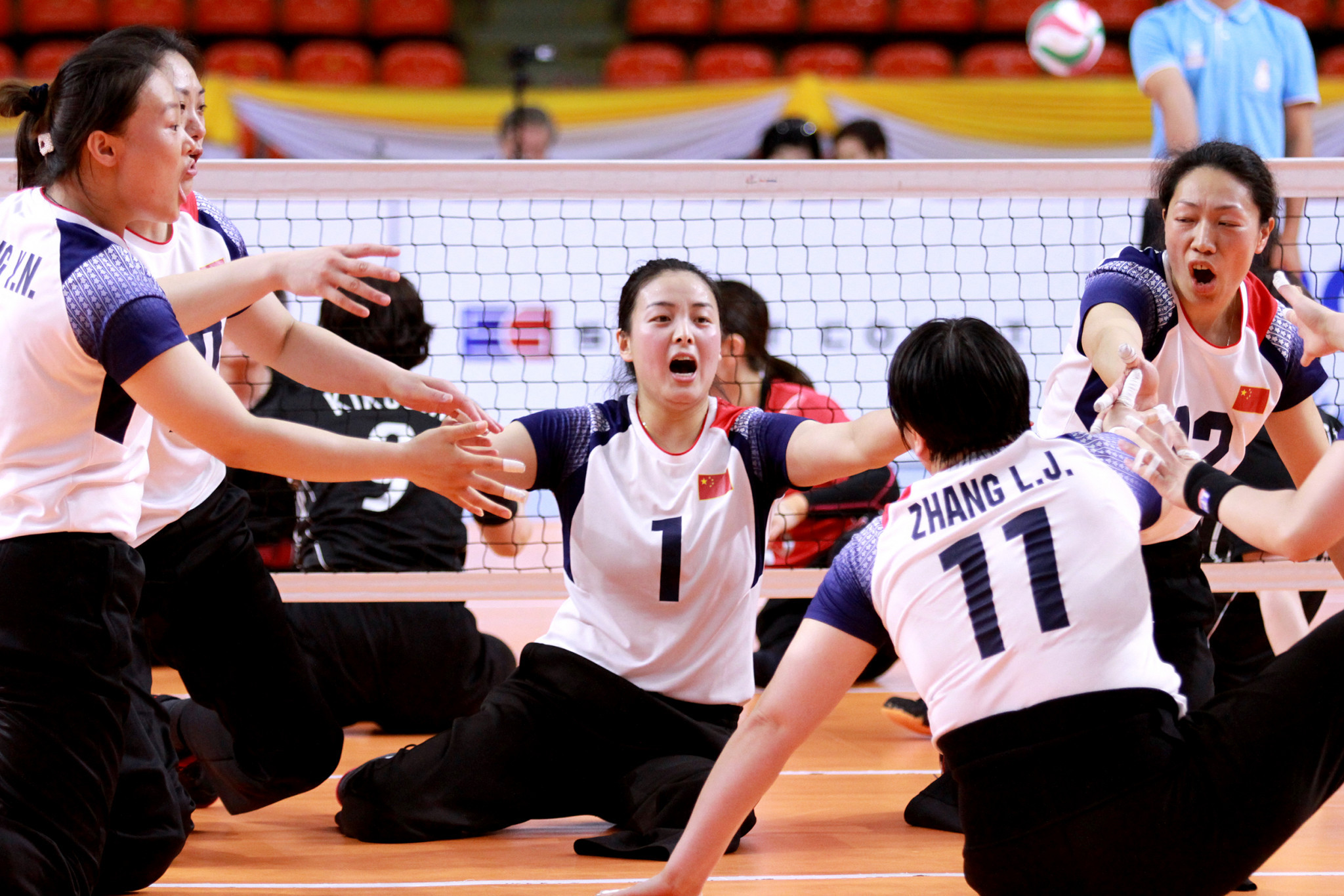 China won their second consecutive title in the women's tournament ©PVAO