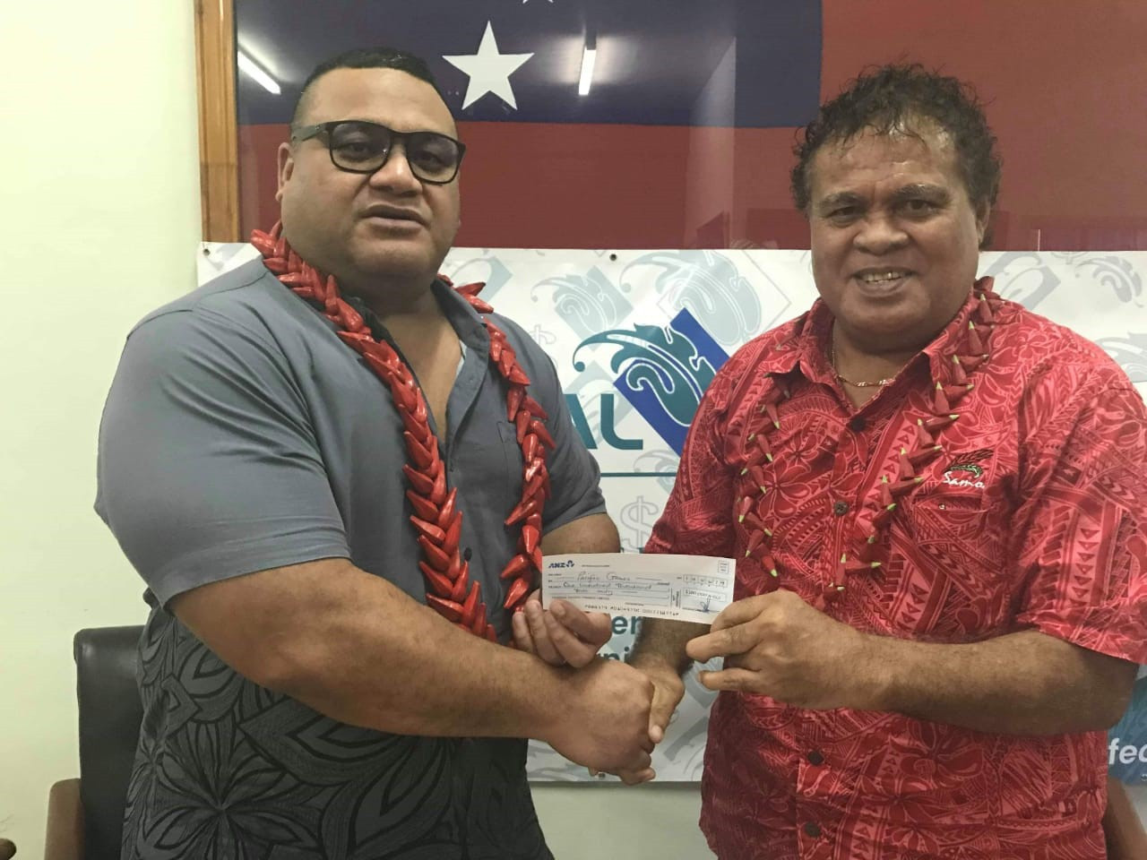 Samoan financial services provider becomes latest local company to sponsor 2019 Pacific Games