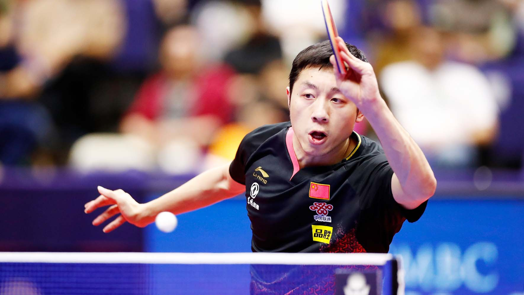 Xu Xin completed a superb triple crown in Sapporo ©ITTF