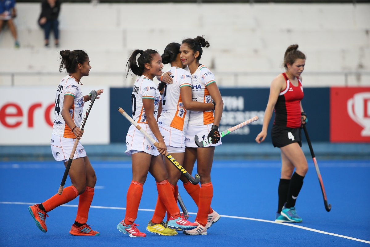 India defeated Poland 5-0 at the FIH Series Finals in Hiroshima ©FIH
