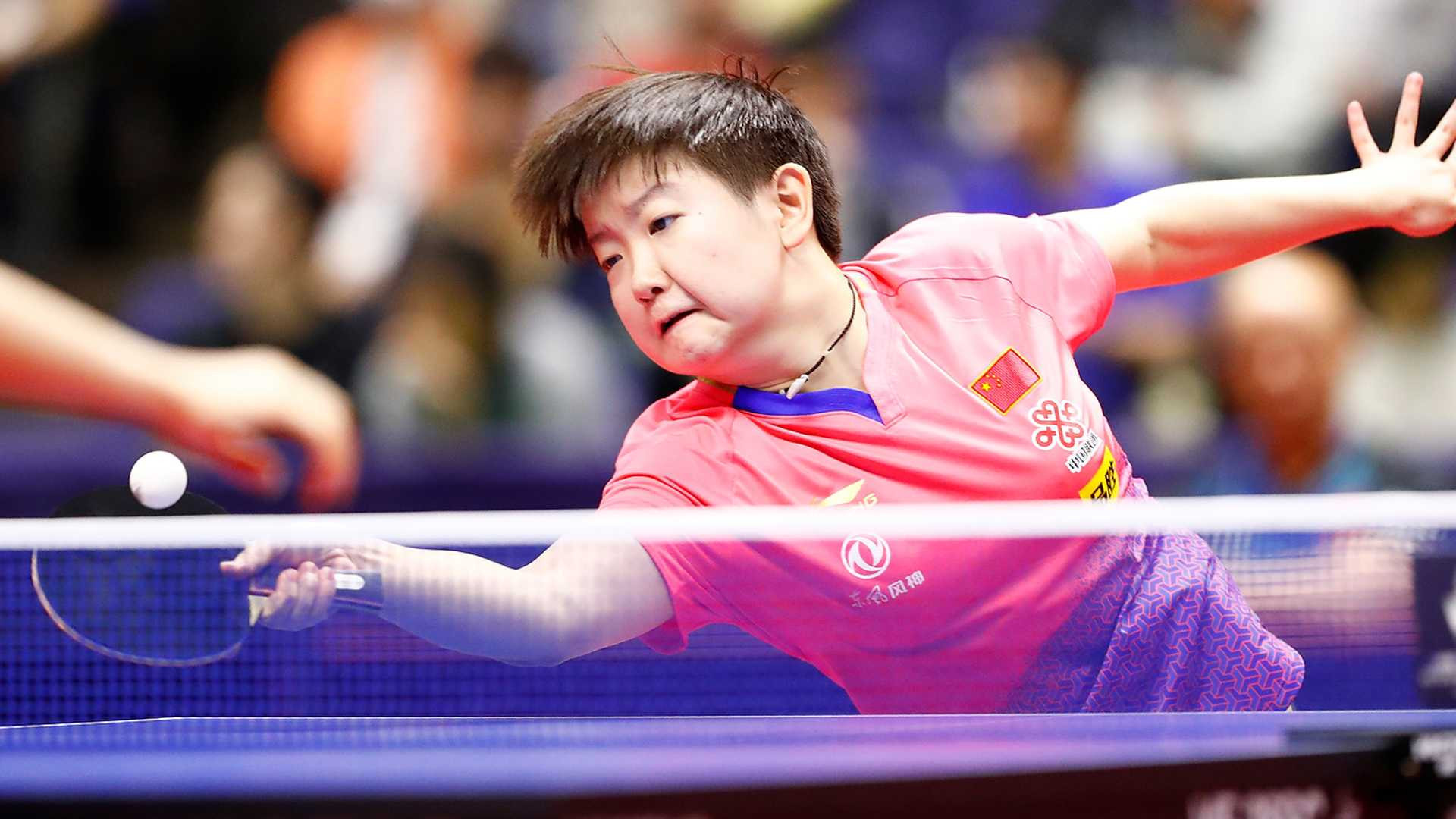 Sun Yingsha won the women's title for the second time in Japan ©ITTF