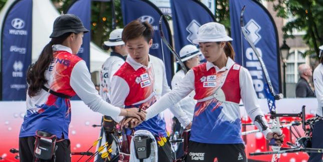 Chinese Taipei earn second gold of World Archery Championships