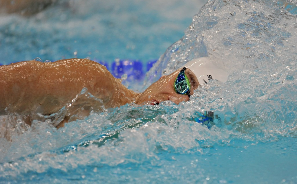 Britain's world champion James Guy won gold in the 200m freestyle