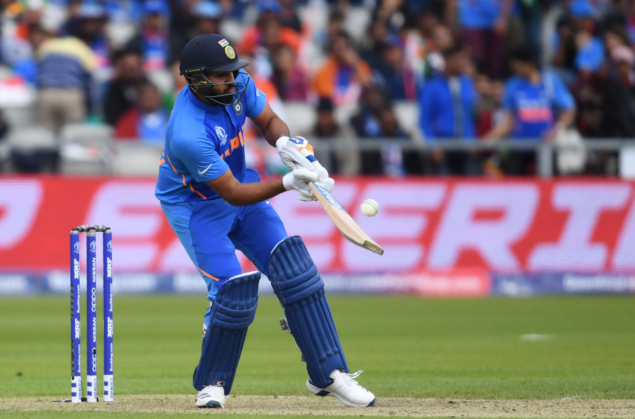 Rohit Sharma hit 140 as India beat Pakistan at the Cricket World Cup ©Getty Images