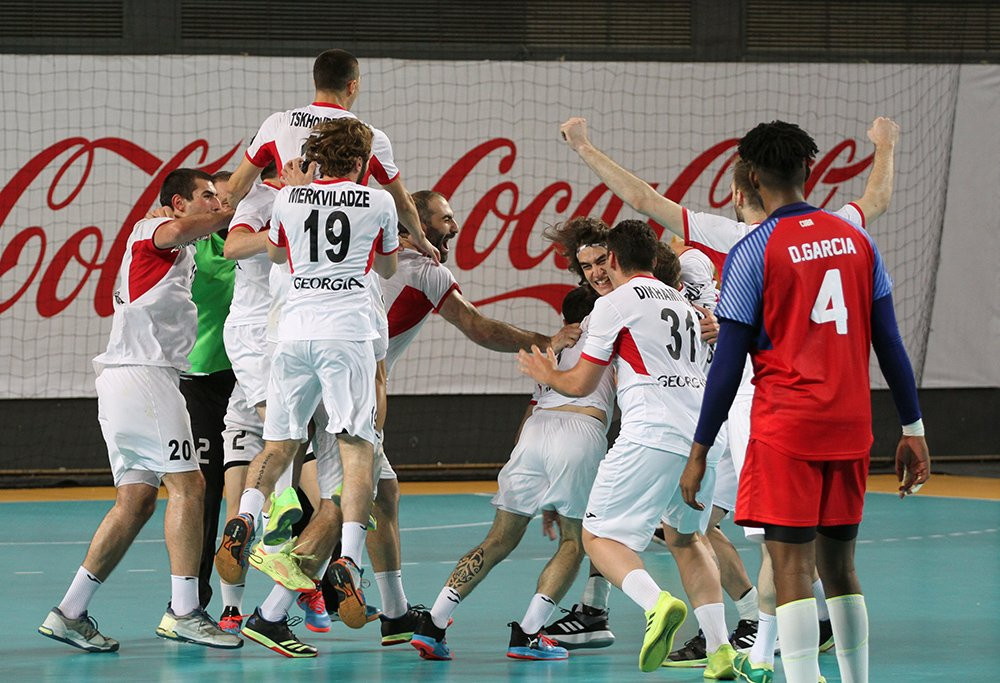 Hosts Georgia win IHF Emerging Nations Championship