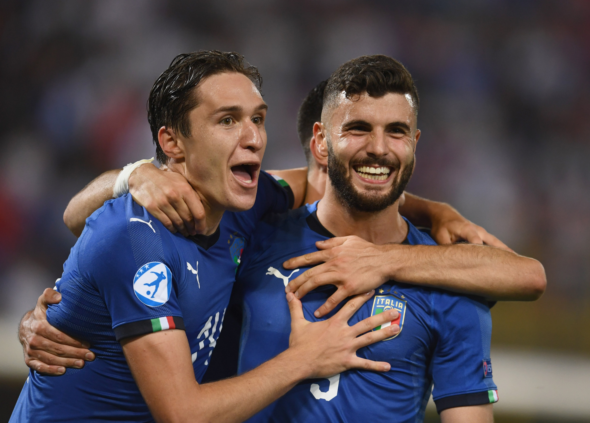 Italy overcome early setback to open European Under-21 Championship campaign with victory over Spain