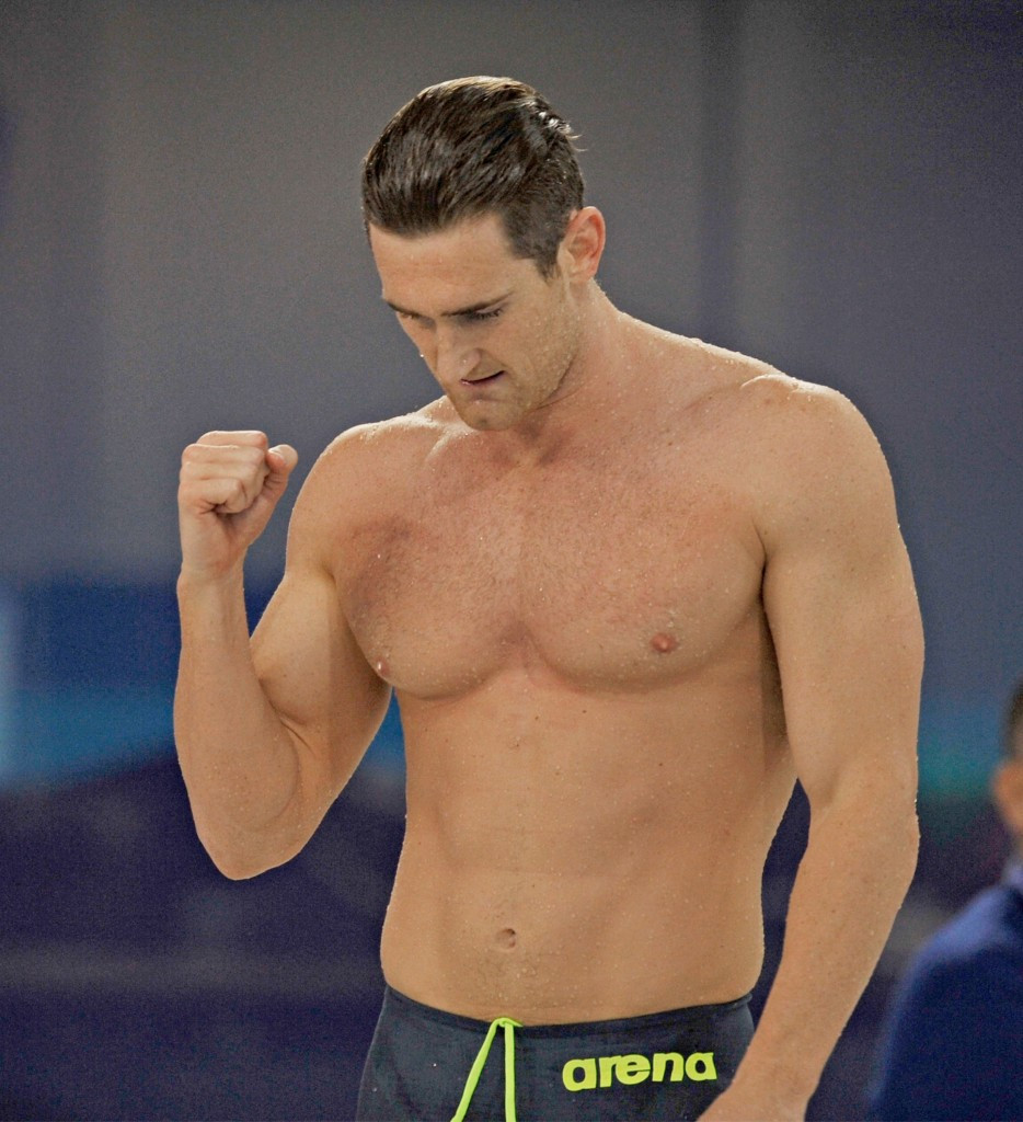 South African Cameron van der Burgh claimed the men's overall FINA World Cup title ©Getty Images