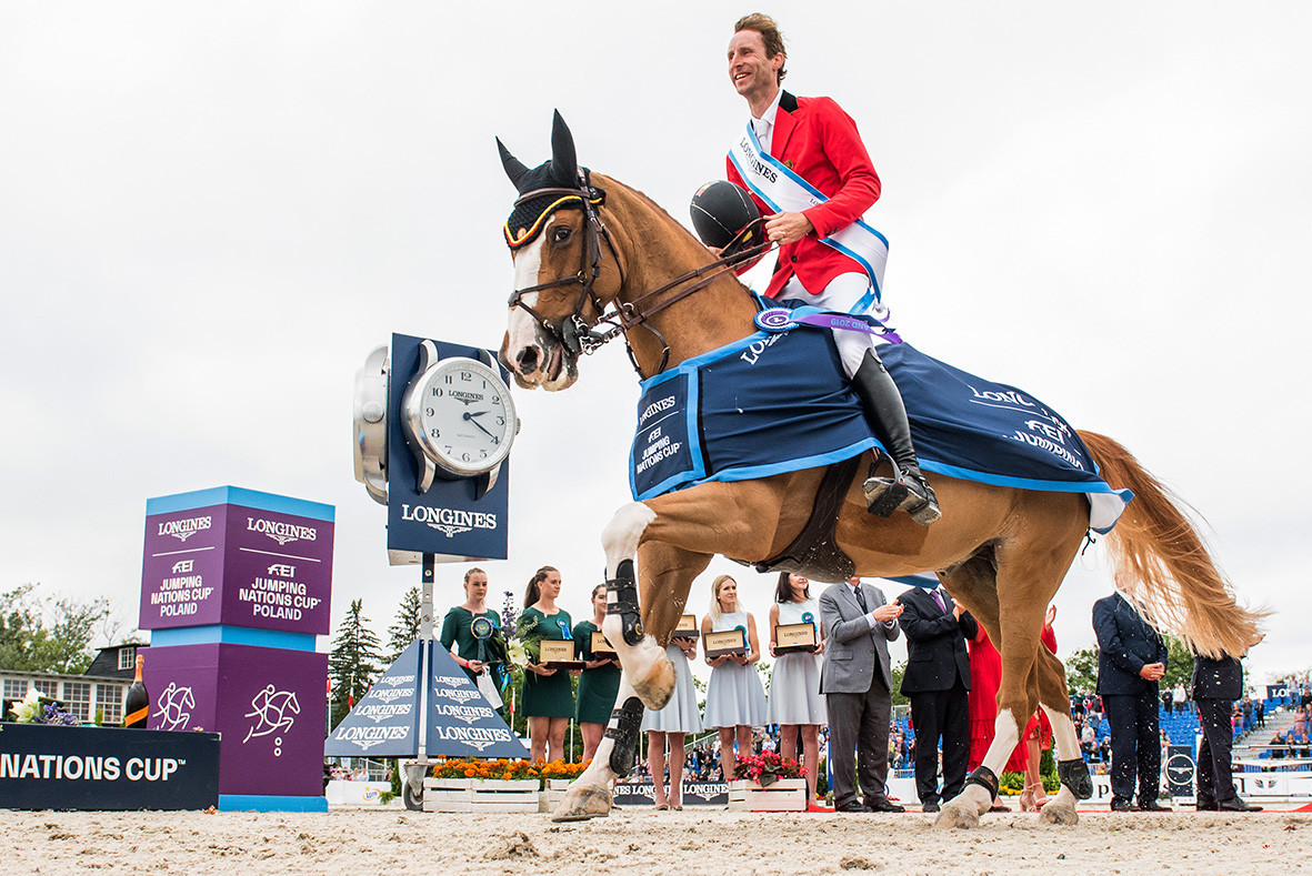 Devos increases Belgian pressure on France at FEI Jumping Nations Cup