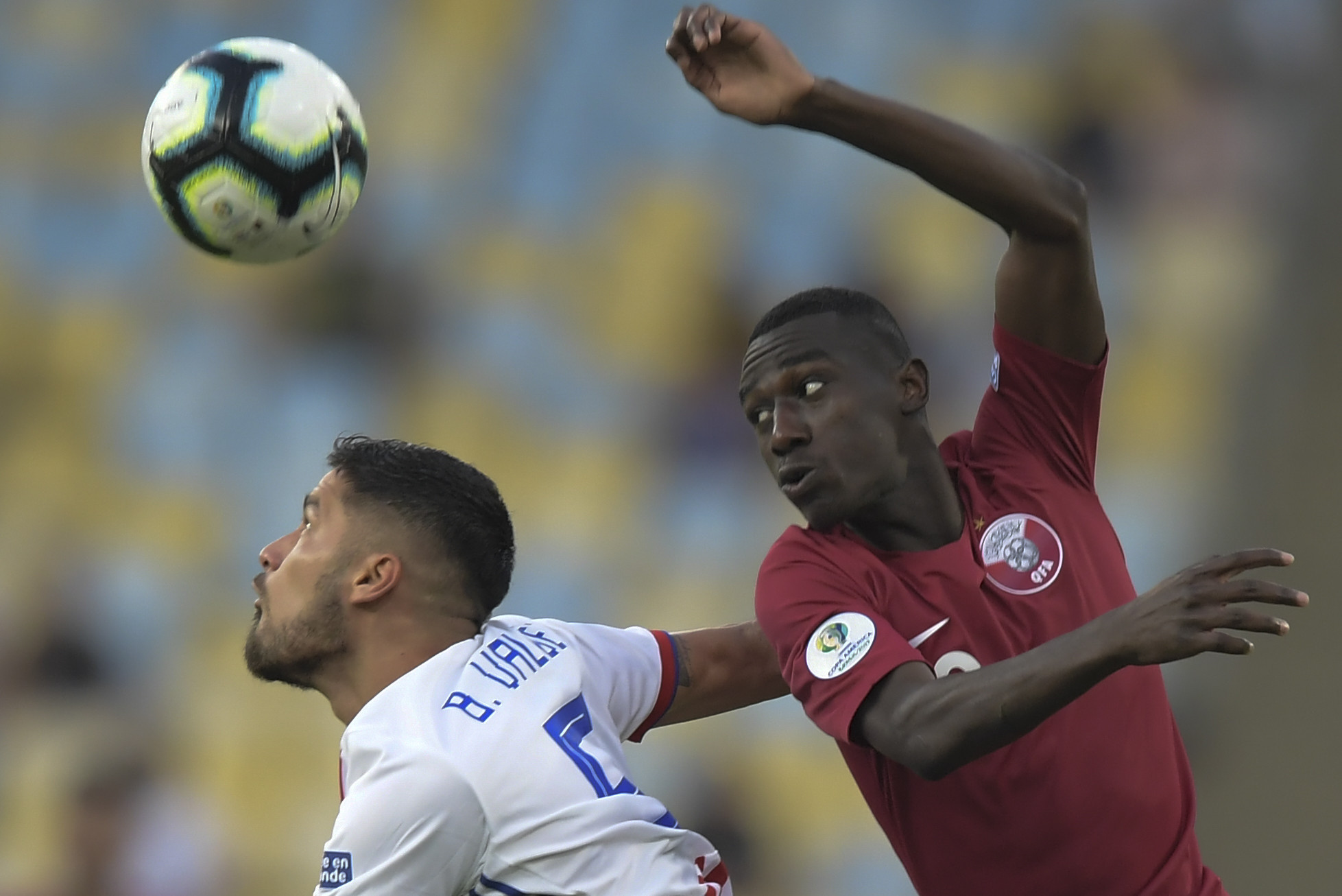 Qatar fight back to stun Paraguay in Copa América