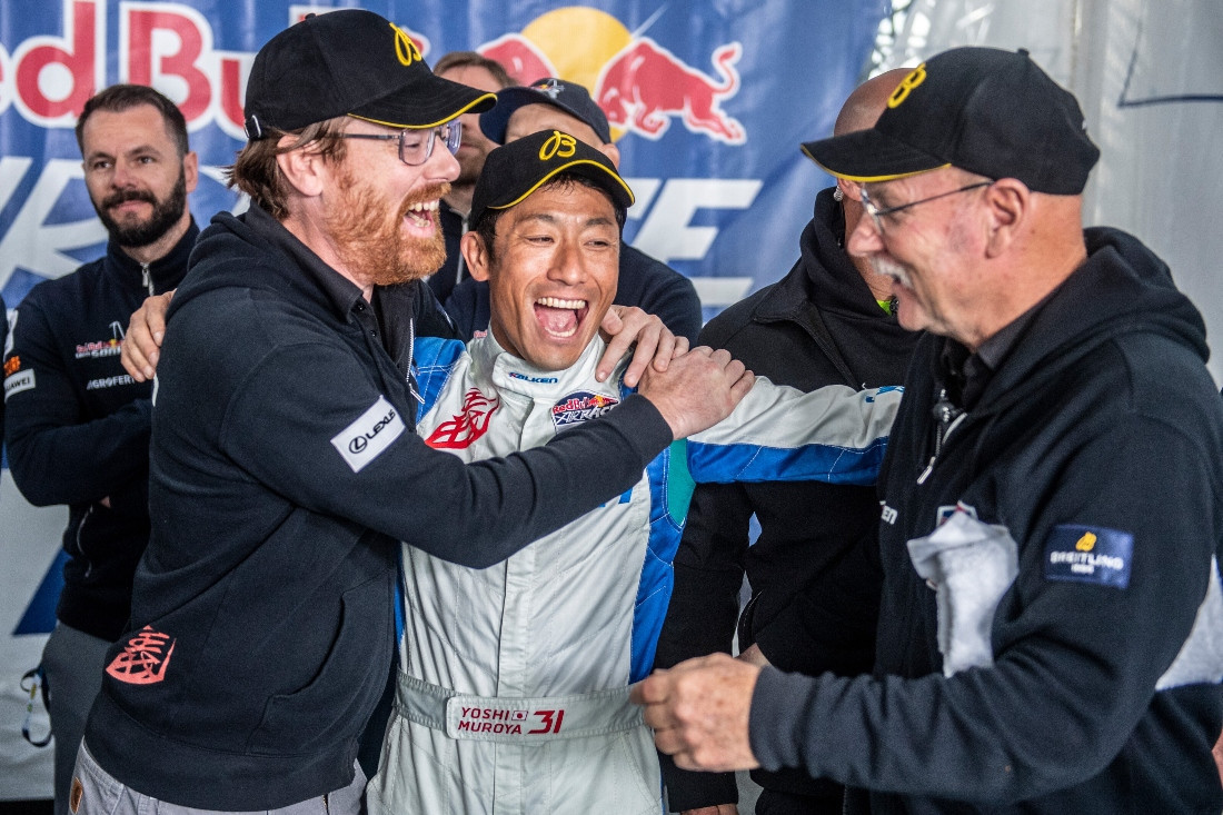 Muroya widens Red Bull Air Race World Championship lead with win in Kazan