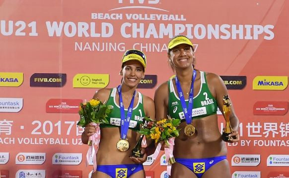 Youth Olympic champions poised for FIVB Under-21 Beach Volleyball World Championships bid in Thailand