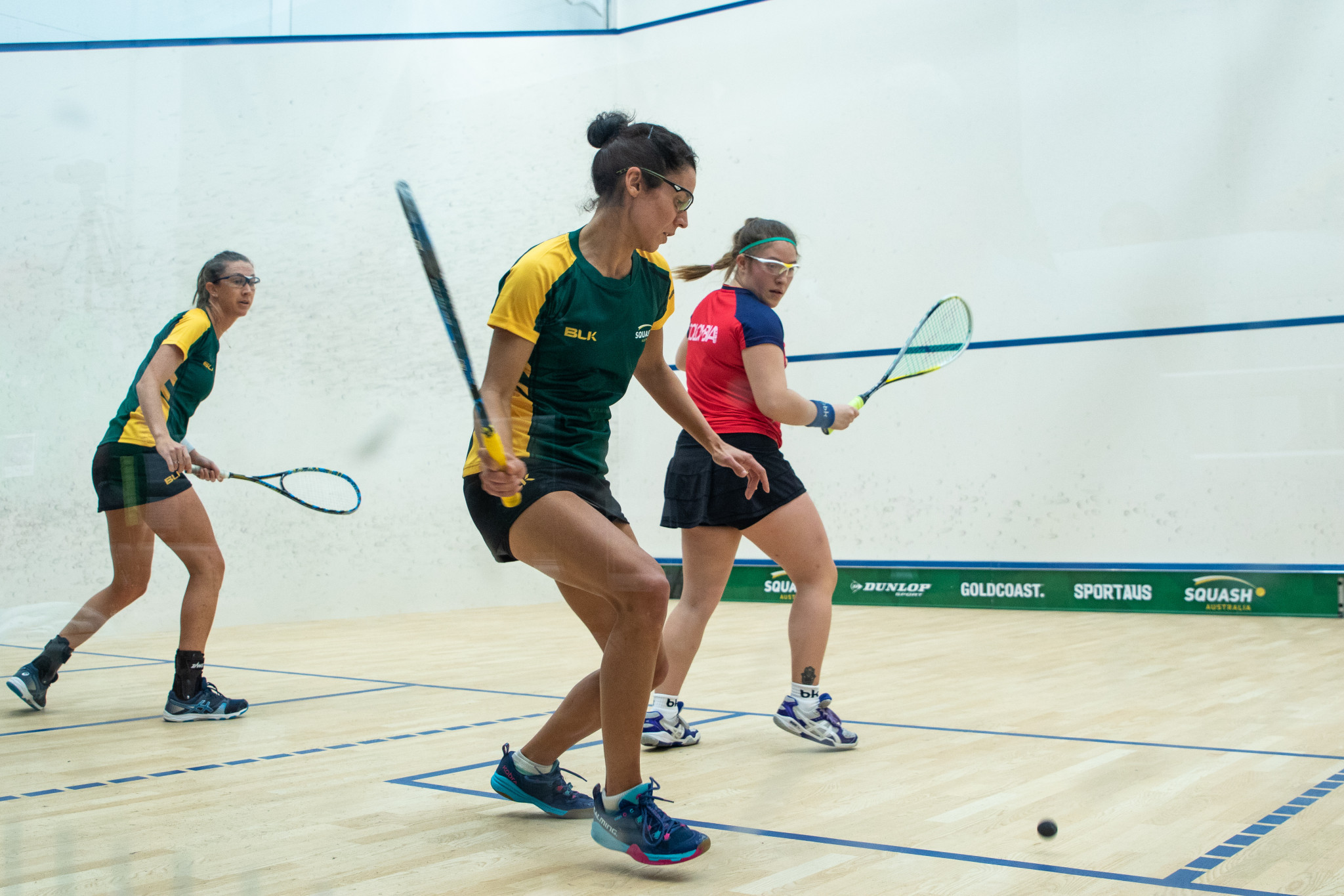 Australia in command on opening day of WSF World Doubles Squash Championships