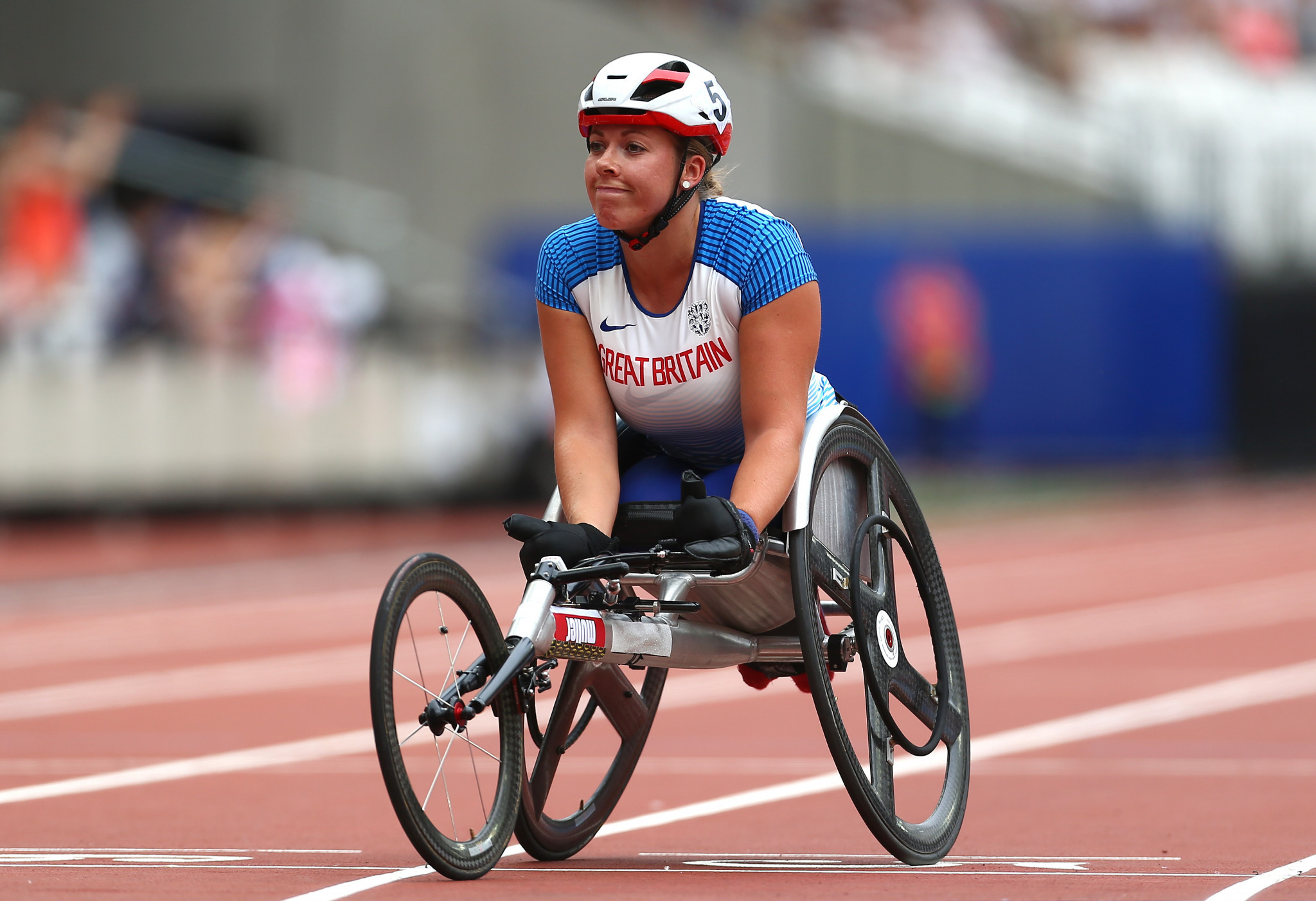 The 26-year-old is unbeaten in 2019 and has won five Paralympic medals, but does not have a kit sponsor ©Getty Images