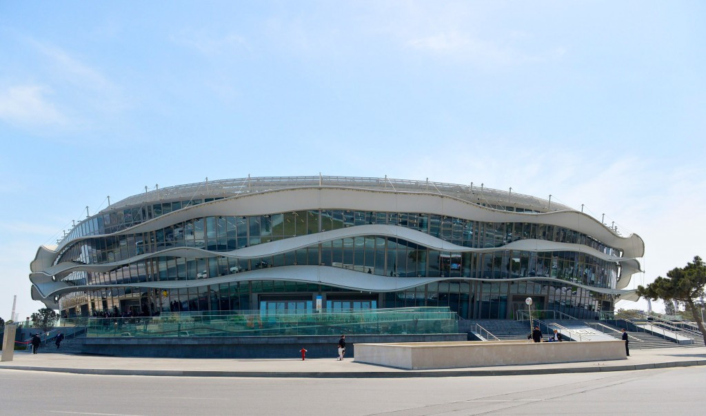 Carlo Mornati believes the Baku 2015 facilities, such as the National Gymnastics Arena, will be first-class after conducting a number of visits