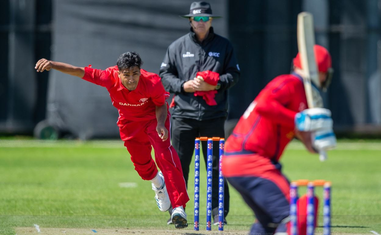 Denmark's slim hopes of reaching the International Cricket Council T20 World Cup were kept alive with victory against Norway ©Twitter