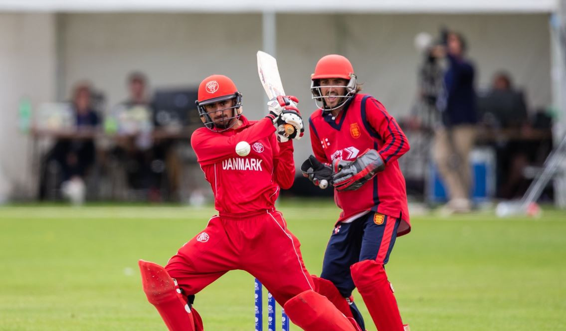 Denmark defeated Norway by 46 runs to record their first win at the International Cricket Council T20 World Cup Europe Qualifier in Guernsey ©Twitter
