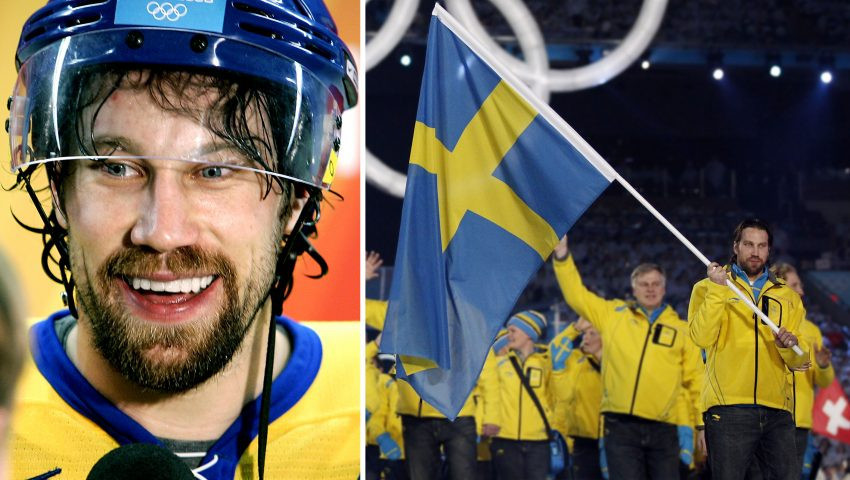 Double Olympic ice hockey champion Peter Forsberg is among the top athletes from Sweden backing the Stockholm Åre bid to host the 2026 Winter Olympic and Paralympic Games ©Stockholm 2026